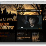 Lucky Country homepage screengrab