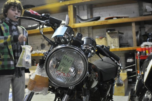 Limited Edition SR500 headlamp